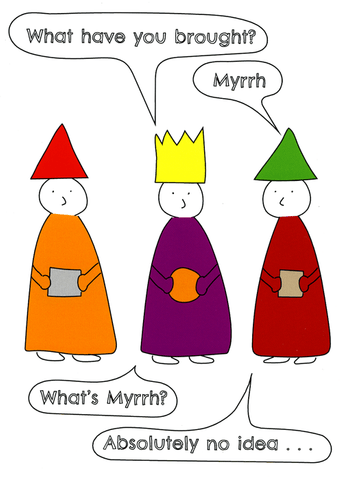 Myrrh - absolutely no idea