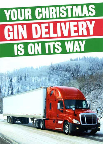 Christmas Gin is on its way