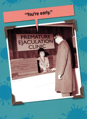 Birthday Card - Premature Ejaculation Clinic