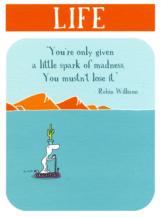 Funny Cards - A Little Spark Of Madness
