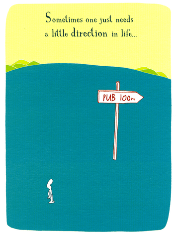A little direction in life