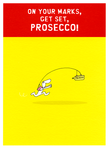 Funny Cards - Get Set, Prosecco!