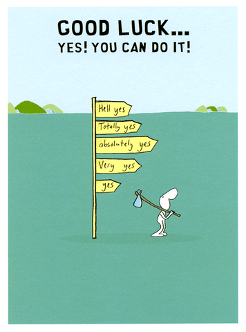 Good Luck - You can do it!
