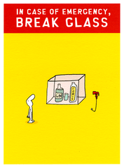 Funny Cards - In Case Of Emergency