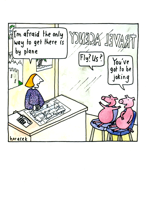 Funny Cards - Pigs Might Fly