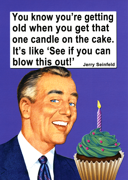 Birthday Card - See If You Can Blow This Out