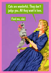Funny Cards - Cats Are Wonderful