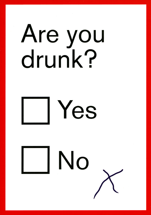Funny Cards - Are You Drunk?