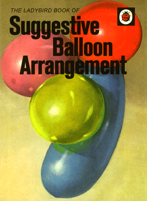 Funny Cards - Suggestive Balloon Arrangement