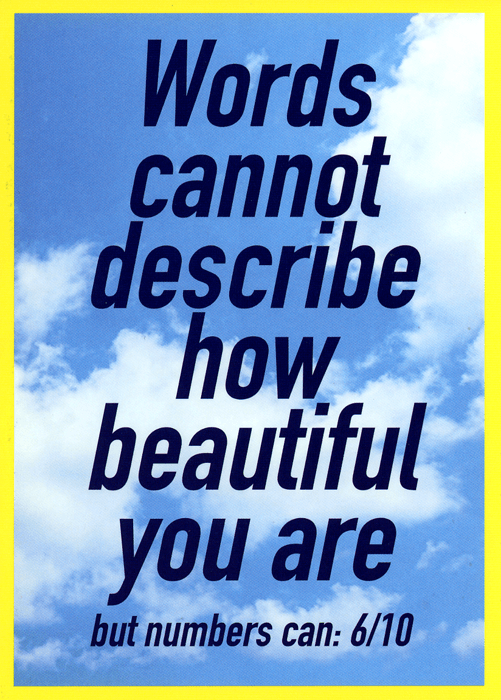 Funny Cards - Words Cannot Describe How Beautiful