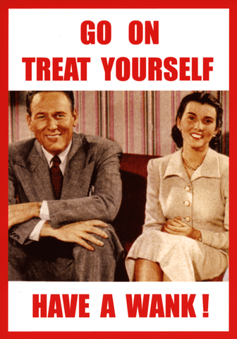 Rude Cards - Treat Yourself