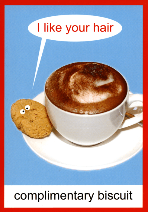 Funny Cards - Complimentary Biscuit