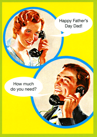 Father's Day - How much do you need?