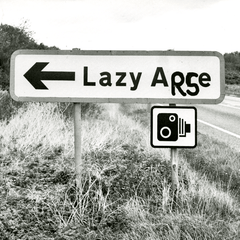 Funny Cards - Lazy Arse