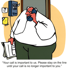 Funny Cards - Your Call Is Important To Us