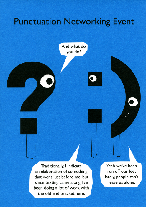Funny Cards - Punctuation Networking