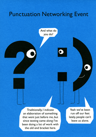 Punctuation Networking