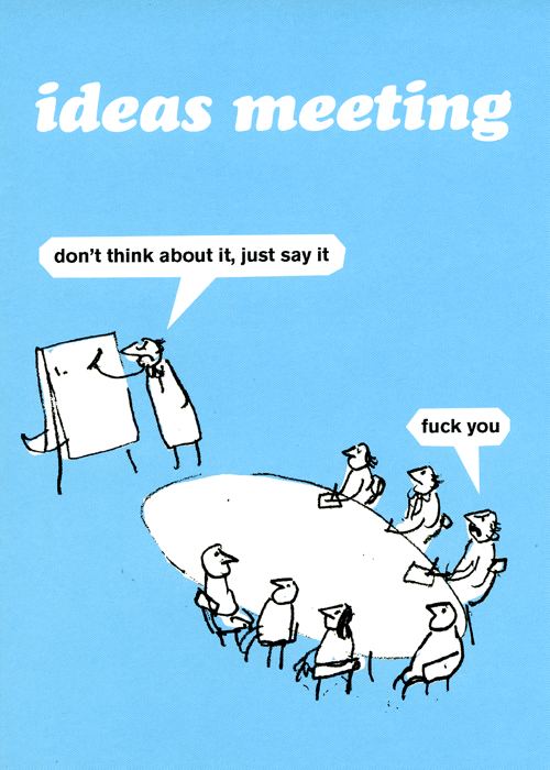Rude Cards - Ideas Meeting