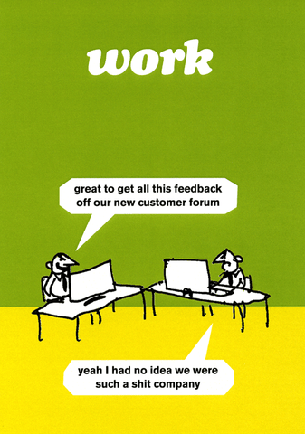 Funny Cards - Great To Get All This Feedback