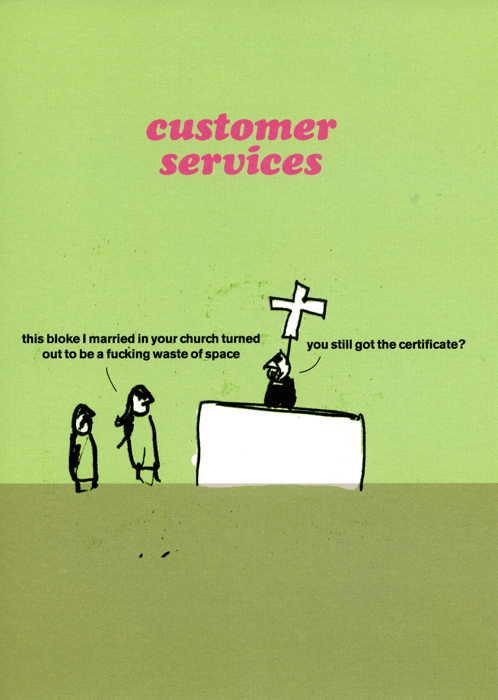 Rude Cards - Customer Services