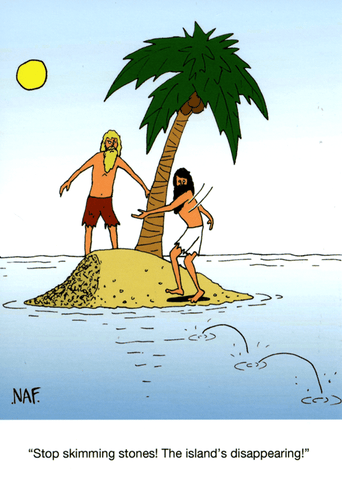 Funny Cards - Stop Skimming Stones!