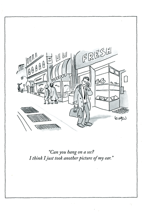 New yorker cards funny cartoons from new yorker magazine comedy another picture of my ear m4hsunfo