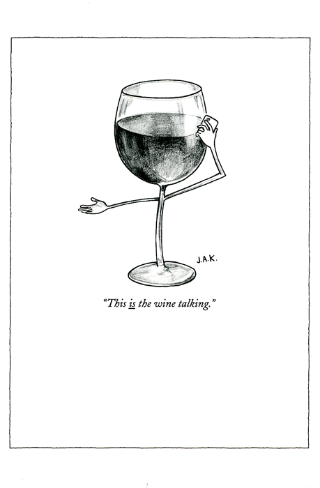 Funny Cards - The Wine Talking