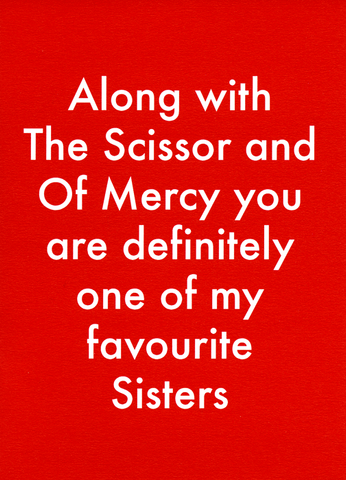 Funny Cards - One Of My Favourite Sisters