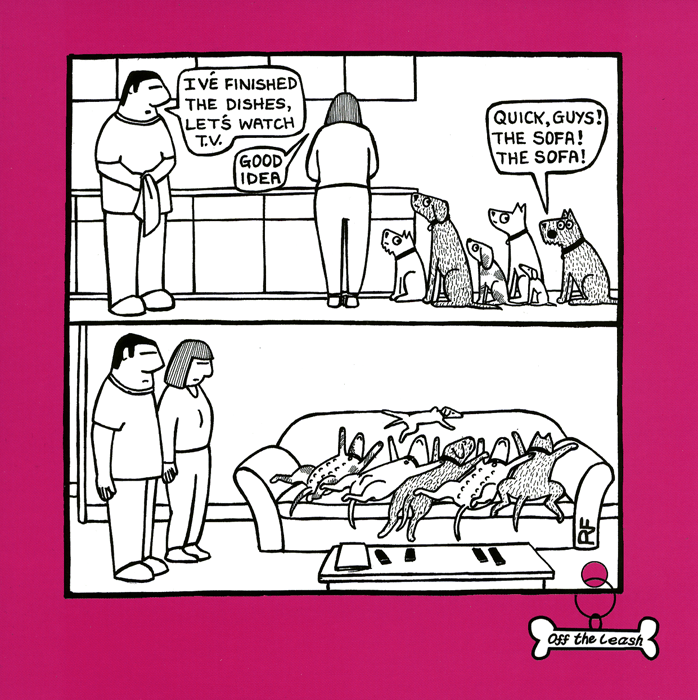 Funny Cards - Quick Guys! The Sofa!