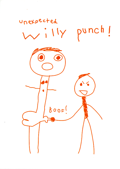 Funny Cards - Unexpected Willy Punch!