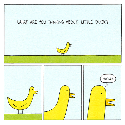 What are you thinking little duck?
