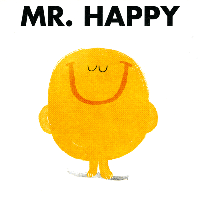 Funny Cards - Mr Happy