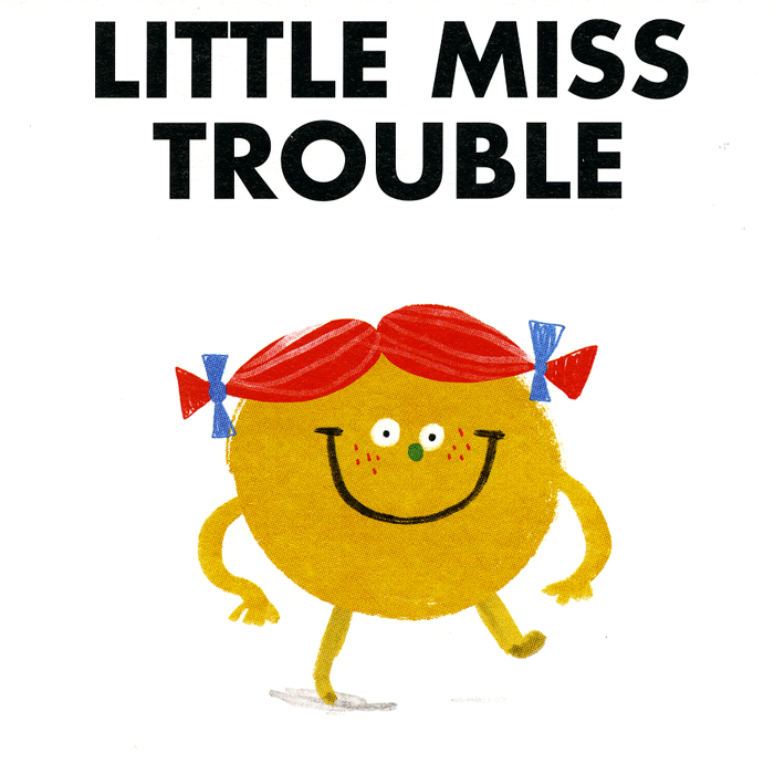 Funny Cards - Little Miss Trouble