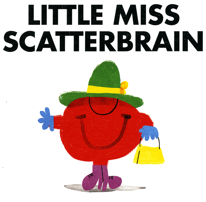 Funny Cards - Little Miss Scatterbrain