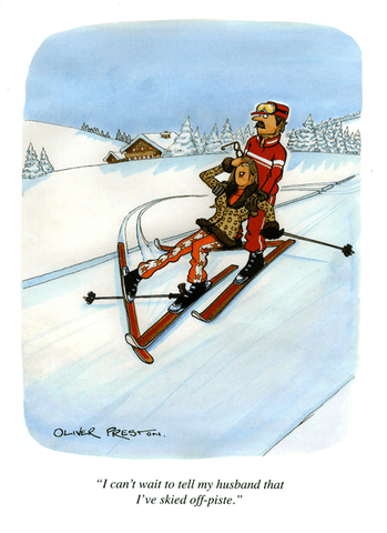 Funny Cards - Skied Off-piste