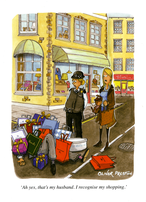 Funny Cards - Recognise My Shopping