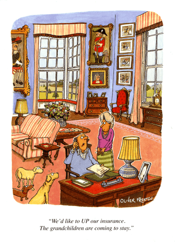 Funny Cards - Grandchildren Coming To Stay