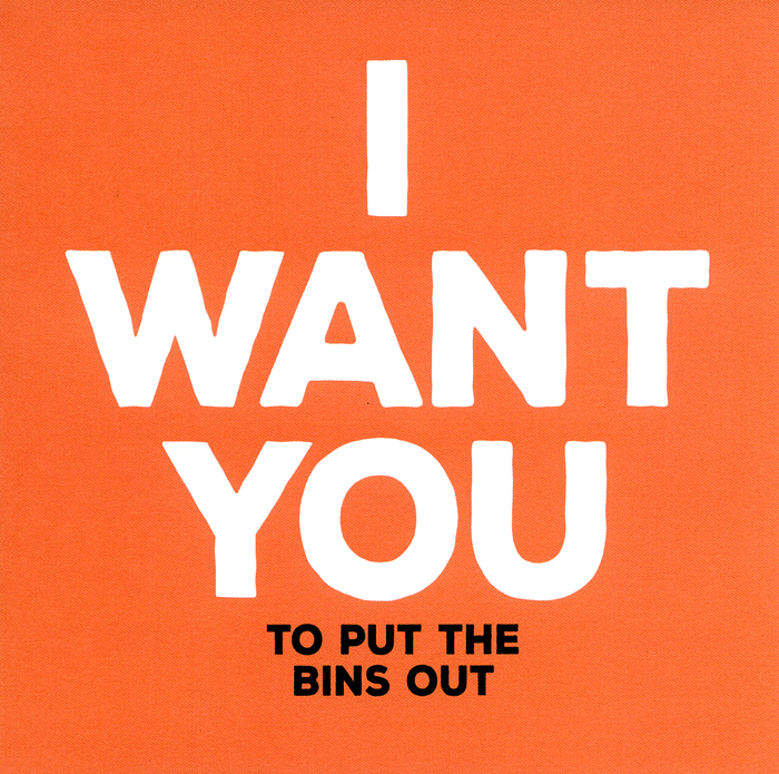 Funny Greeting Card I Want You To Put Bins Out Comedy Card Company