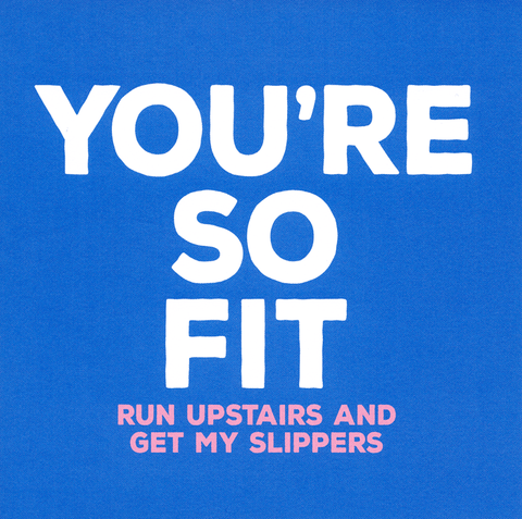 Valentines Cards - You're So Fit