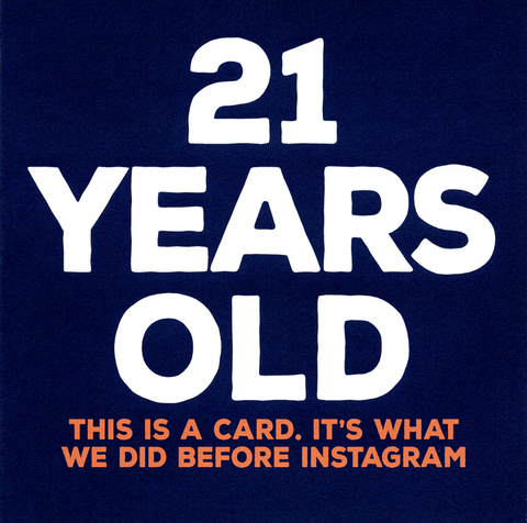 21st - What we did before Instagram