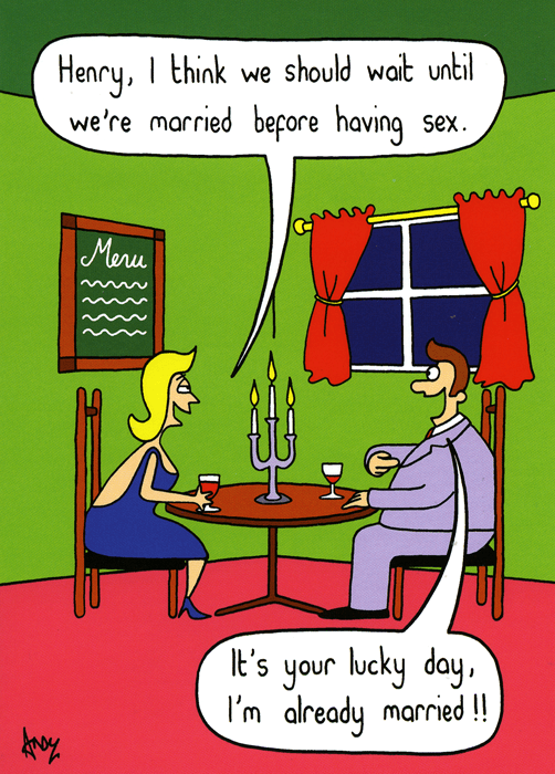 Funny Cards - Wait Until We're Married