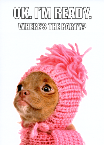 Funny Cards - Where's The Party?