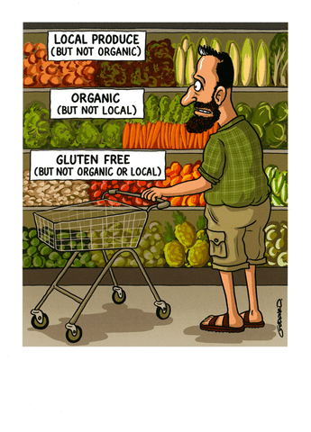 Birthday Card - Local, Organic, Gluten Free