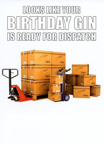 Birthday Gin ready to Dispatch