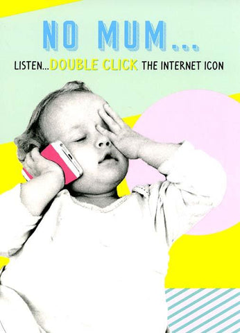 Double click the internet icon