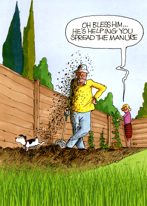 Funny Cards - Helping You Spread The Manure
