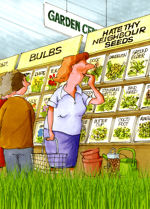 Funny Cards - Hate Thy Neighbour Seeds