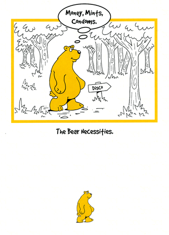 Funny Cards - The Bear Necessities