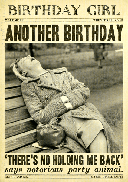 Another Birthday - No holding me back