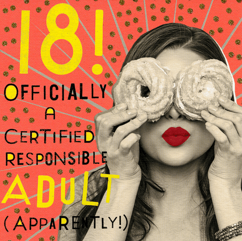 18 - Responsible adult apparently